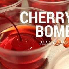 Cherry Bomb Jell-O Shots