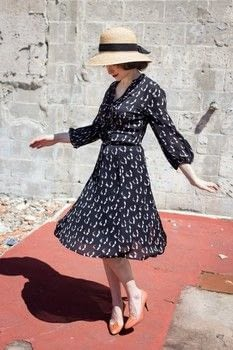 This is the perfect vintage style dress for summer parties .  Free tutorial with pictures on how to revamp a dress by resizing it in under 30 minutes by dressmaking with seam ripper. Inspired by vintage & retro. How To posted by The Sassy Sparrow.  in the Sewing section Difficulty: Easy. Cost: Absolutley free. Steps: 8