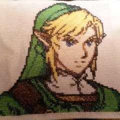 Legend Of Zelda Twilight Princess Embroidery   Link