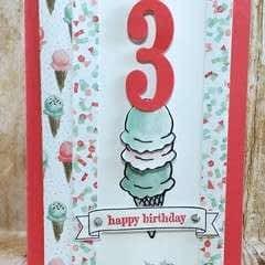 Ice Cream Birthday!
