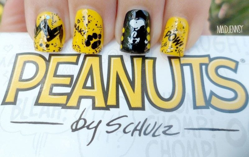 Snoopy nail art peanuts collection by opi review how to paint an snoopy nail art peanuts collection by opi review 1 2 prinsesfo Gallery