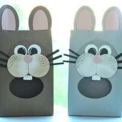 Novelty Gift Bags   Bunnies