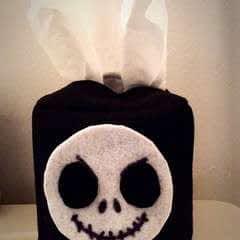Diy Jack Skellington Tissue Box Cover