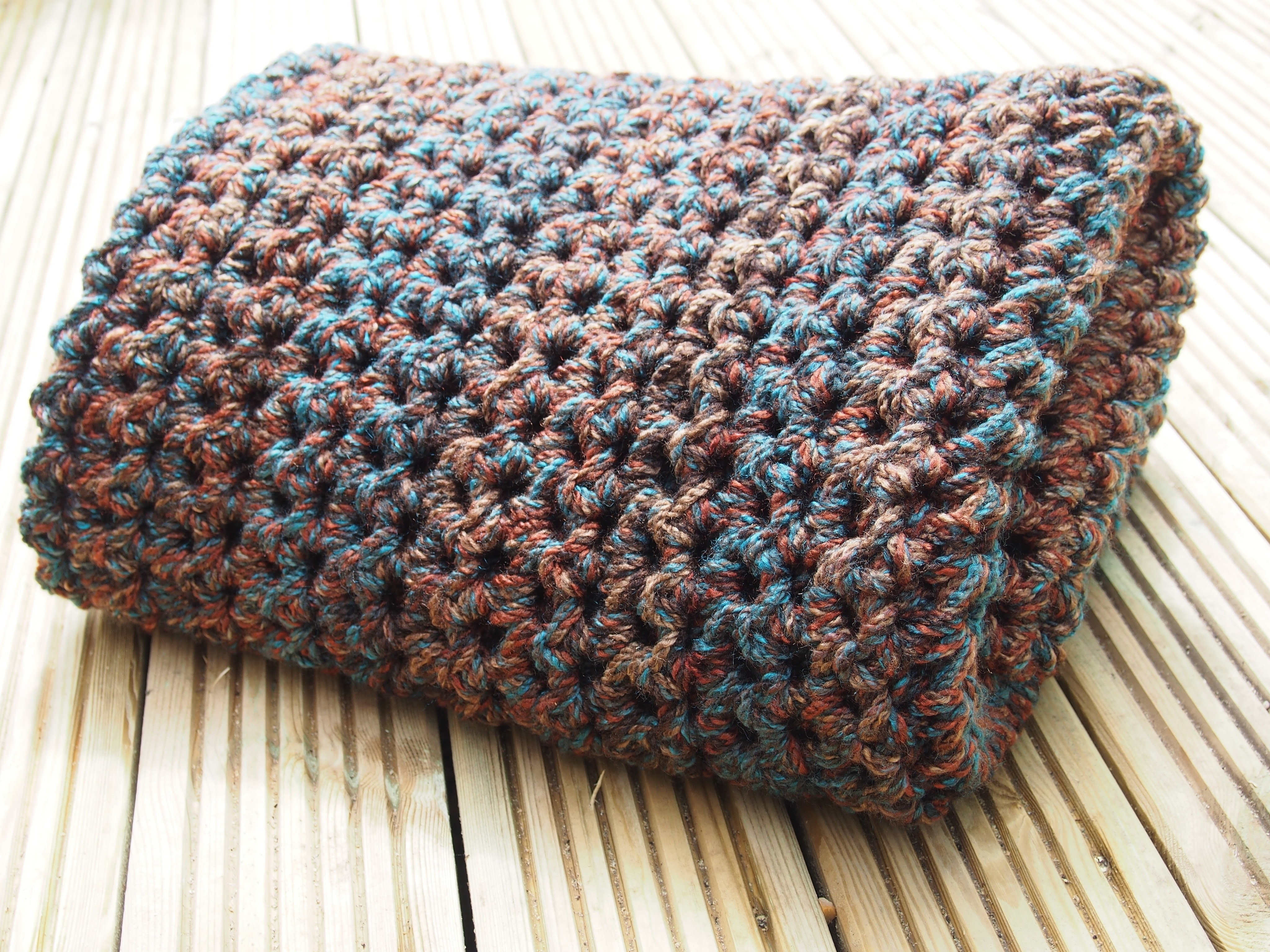 Big Hook Chunky Blanket 183 How To Stitch A Knit Or Crochet