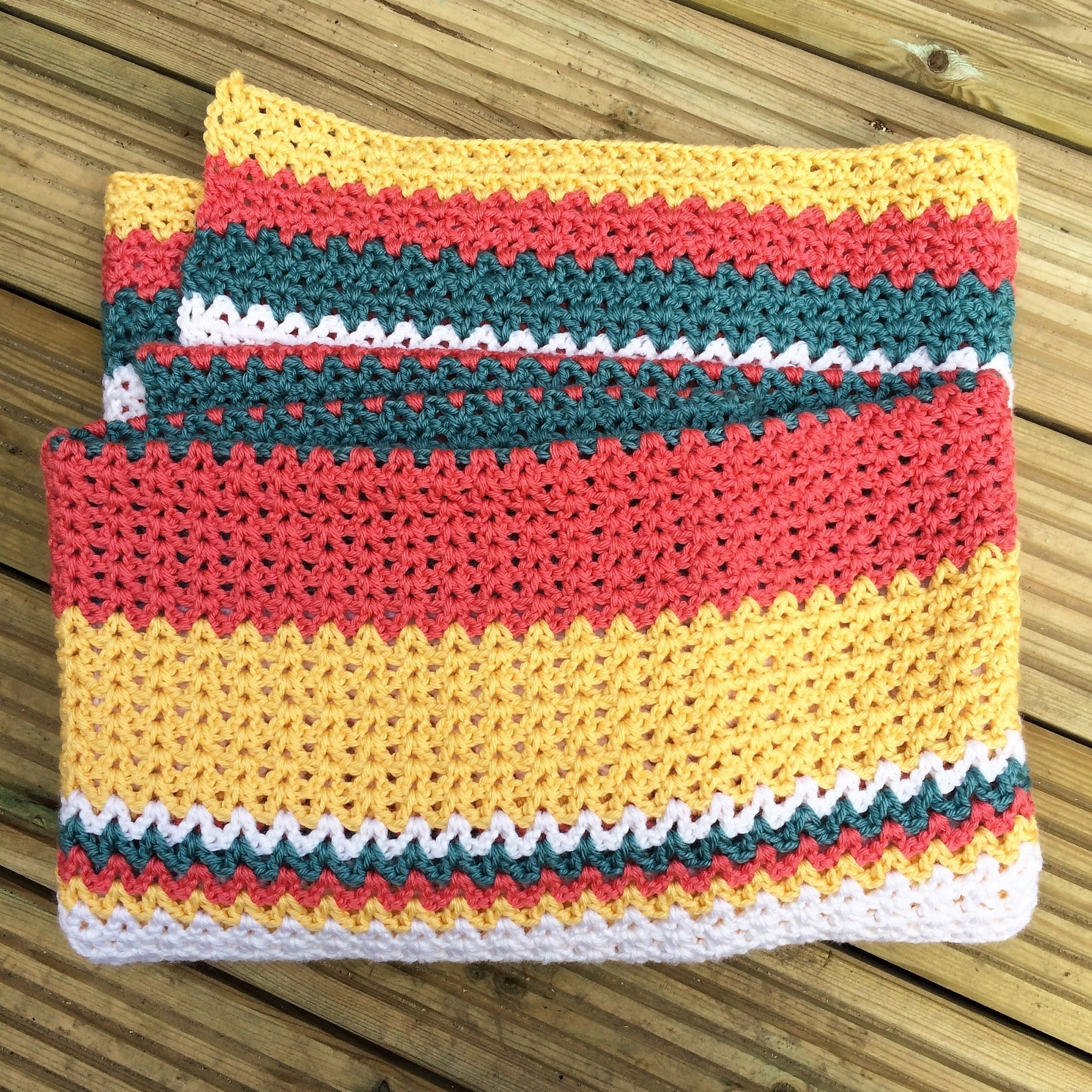 Sunset Crush Blanket 183 How To Stitch A Knit Or Crochet