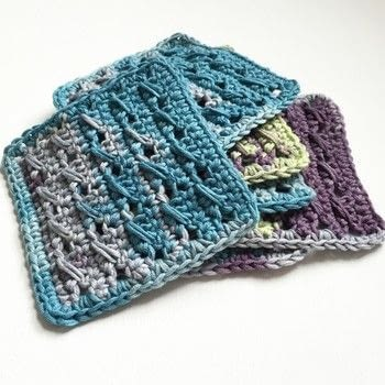Create coasters for outdoor summer living .  Free tutorial with pictures on how to stitch a knit or crochet coaster in under 20 minutes by crocheting with dk yarn, crochet hook, and tapestry needle. How To posted by Woolly Truckle.  in the Yarncraft section Difficulty: 3/5. Cost: Absolutley free. Steps: 7