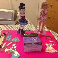 Durable Paper Doll Play Set