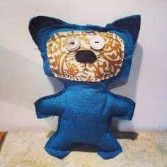 Upcycled Scrap Fabric Stuffie