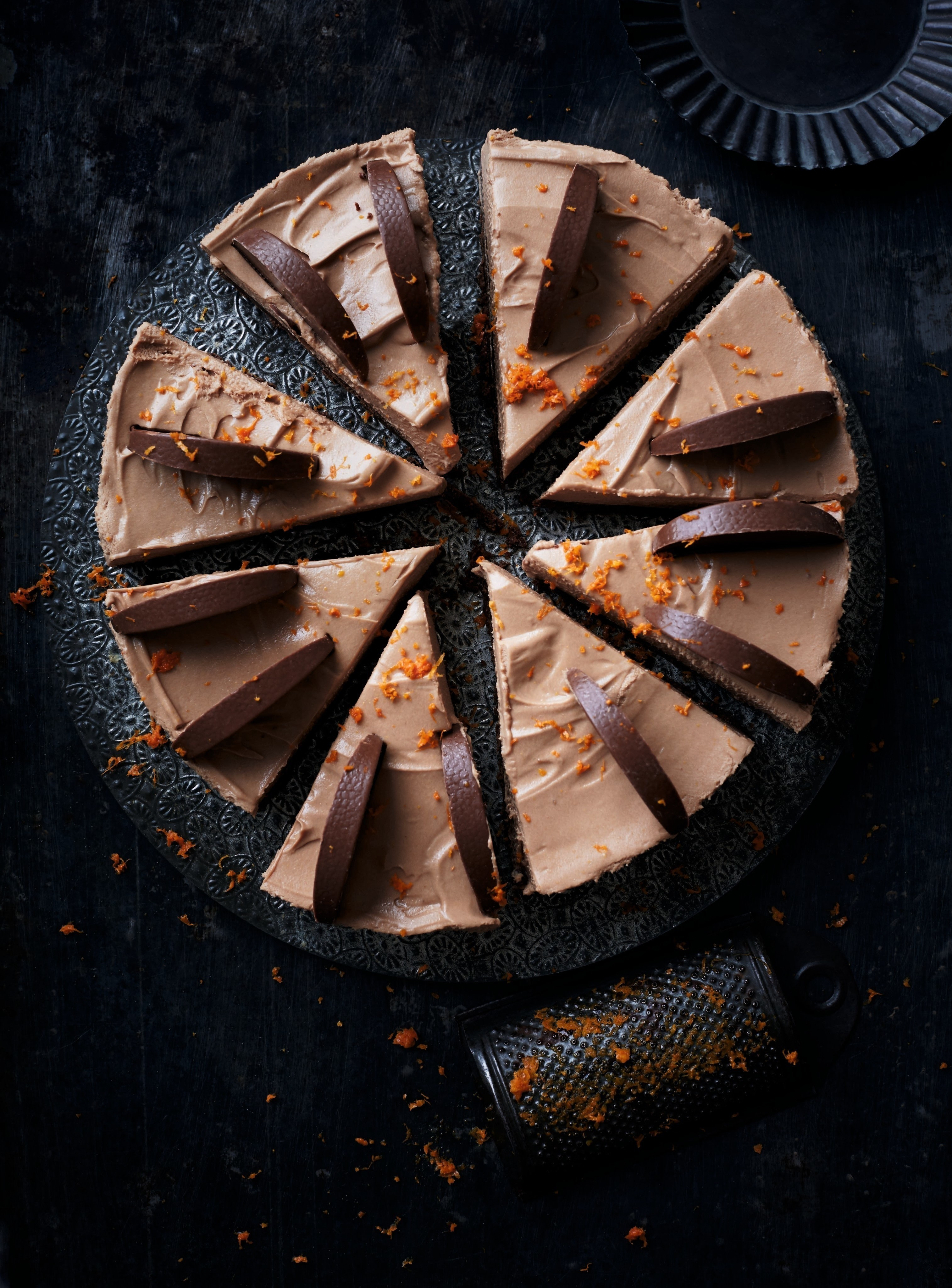 Chocolate Orange Cheesecake 183 Extract From Tanya Bakes By Tanya Burr 183 How To Bake A Cheesecake