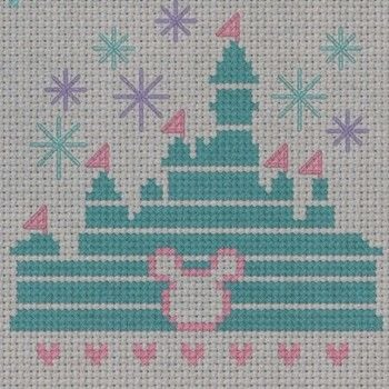 """""""If you can dream it, you can do it"""" .  Free tutorial with pictures on how to cross stitch  in 4 steps by needleworking, cross stitching, and embroidering with aida cloth, embroidery needle, and embroidery floss. Inspired by disney, mickey & minnie mouse, and hearts. How To posted by SSaunders.  in the Needlework section Difficulty: 3/5. Cost: Absolutley free."""