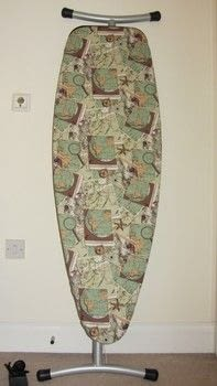 Design and make a customised ironing board cover .  Free tutorial with pictures on how to make an ironing board in under 180 minutes by sewing and machine sewing with cotton, calico, and cotton batting. How To posted by Claire E.  in the Sewing section Difficulty: 3/5. Cost: 3/5. Steps: 6