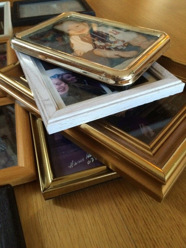Diy Multi Photo Frame From Old Frames 183 How To Make A