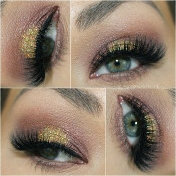 How-to create a Quick & Easy Glam Eye .  Free tutorial with pictures on how to create a sunburst eye in under 15 minutes by applying makeup with scenic city cosmetics shadow in 'cherry cola', mac fix +, and mba cosmetic glitter foil & line fx serum. How To posted by Maria G.  in the Beauty section Difficulty: Simple. Cost: Cheap. Steps: 1