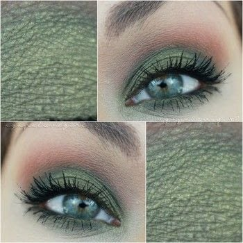 How to create a Dirty Martini Eye Tutortial .  Free tutorial with pictures on how to create a two toned eye makeup look in under 15 minutes by applying makeup with eyeshadow. How To posted by Maria G.  in the Beauty section Difficulty: Simple. Cost: 3/5. Steps: 1