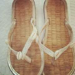Easy DIY Seashell Summer Sandals