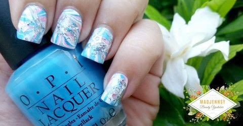 .  Free tutorial with pictures on how to paint a marbled nail in under 40 minutes using nail polish. Inspired by japanese. How To posted by Jennifer R.  in the Beauty section Difficulty: Simple. Cost: Cheap. Steps: 1