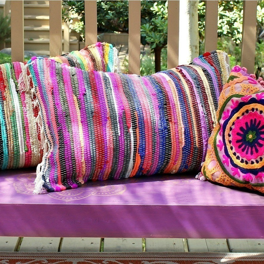 Diy Patio Furniture Cushion Storage