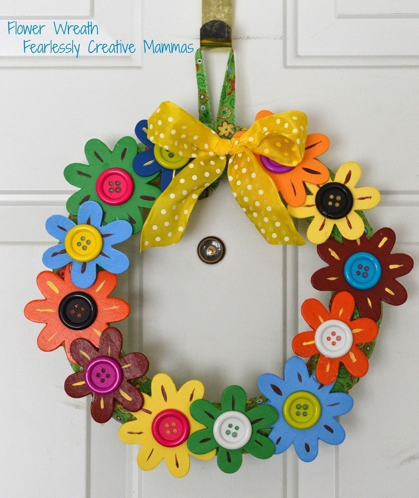 Flower Door Wreath 183 How To Make A Floral Wreath