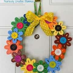 Flower Door Wreath