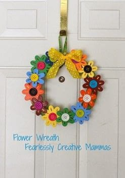 .  Free tutorial with pictures on how to make a floral wreath in under 60 minutes by decorating with paint brush, flowers, and hot glue gun and glue sticks. How To posted by Kathleen C.  in the Decorating section Difficulty: Easy. Cost: Cheap. Steps: 4