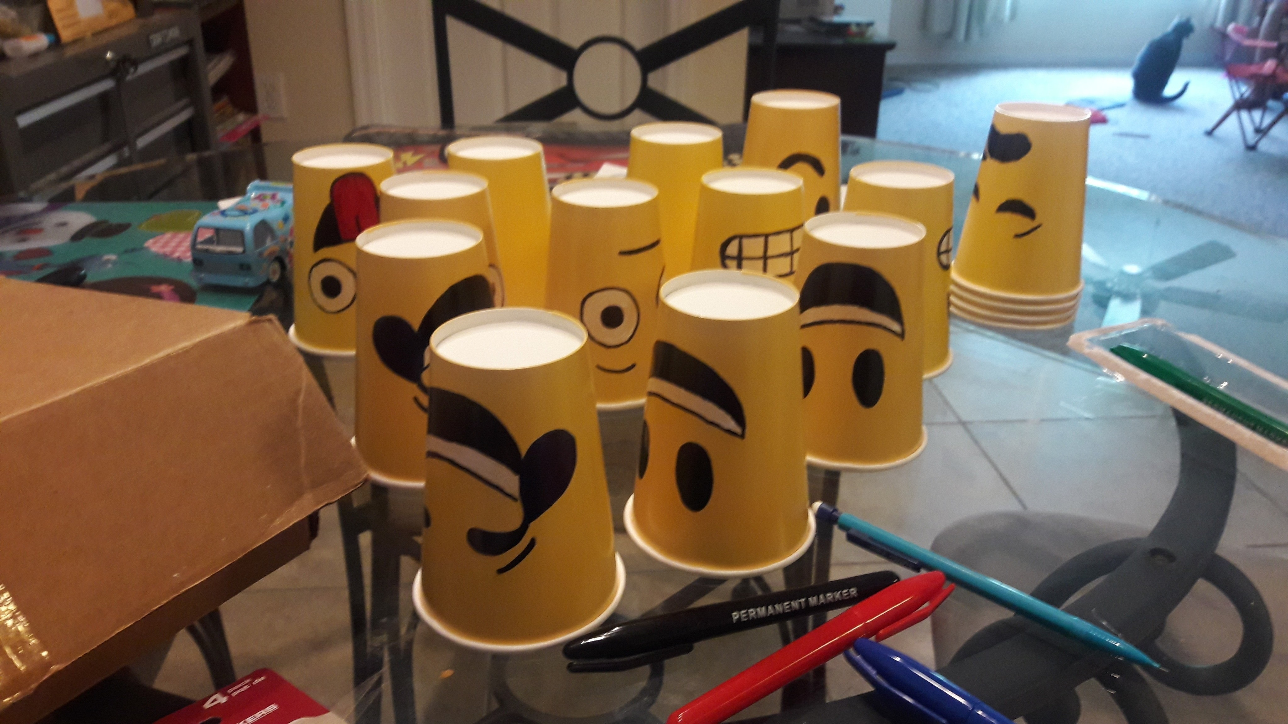 Emoji Face Paper Cups 183 How To Make A Cup Mug