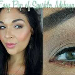 Quick & Simple With A Pop Of Sparkle Eye Tutorial