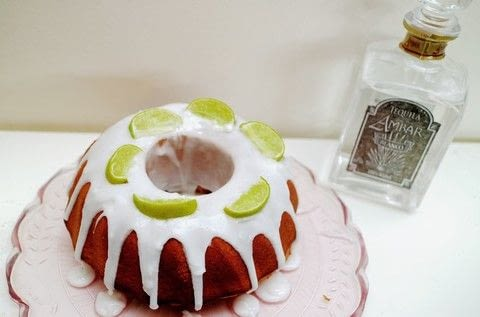 A zesty lemon & lime cake infused with tequila and drizzled with lemon icing! .  Free tutorial with pictures on how to bake a bundt cake in under 45 minutes by cooking and baking with self-raising flour, coconut oil, and sugar. Inspired by mexican. Recipe posted by Cat Morley.  in the Recipes section Difficulty: Simple. Cost: Cheap. Steps: 12