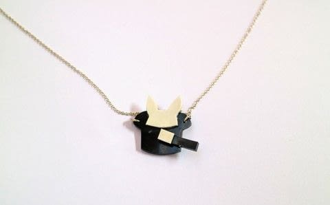 Make a rabbit appear from a magical hat necklace! .  Free tutorial with pictures on how to make a shrink plastic pendant in under 15 minutes by jewelrymaking with paper, shrink plastic, and scissors. How To posted by Cat Morley.  in the Jewelry section Difficulty: Simple. Cost: Cheap. Steps: 9