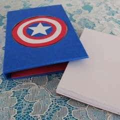 Captain America Notepad