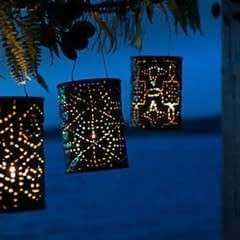 Extravagant Party Decoration With Diy Luminaries