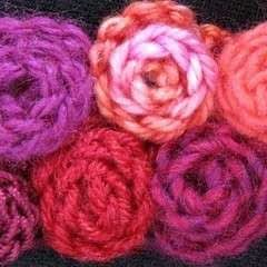 Slip Stitch Strip Roses