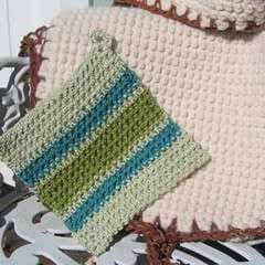 Classic Double Thick Potholder Stitch