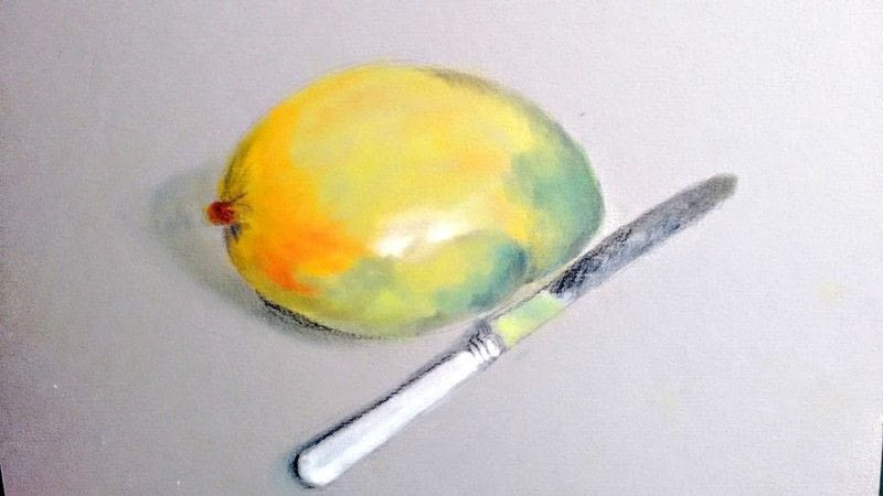 Avocado Drawing · How To Draw A Pastel Drawing · Art on ... Simple Drawing In Pencil