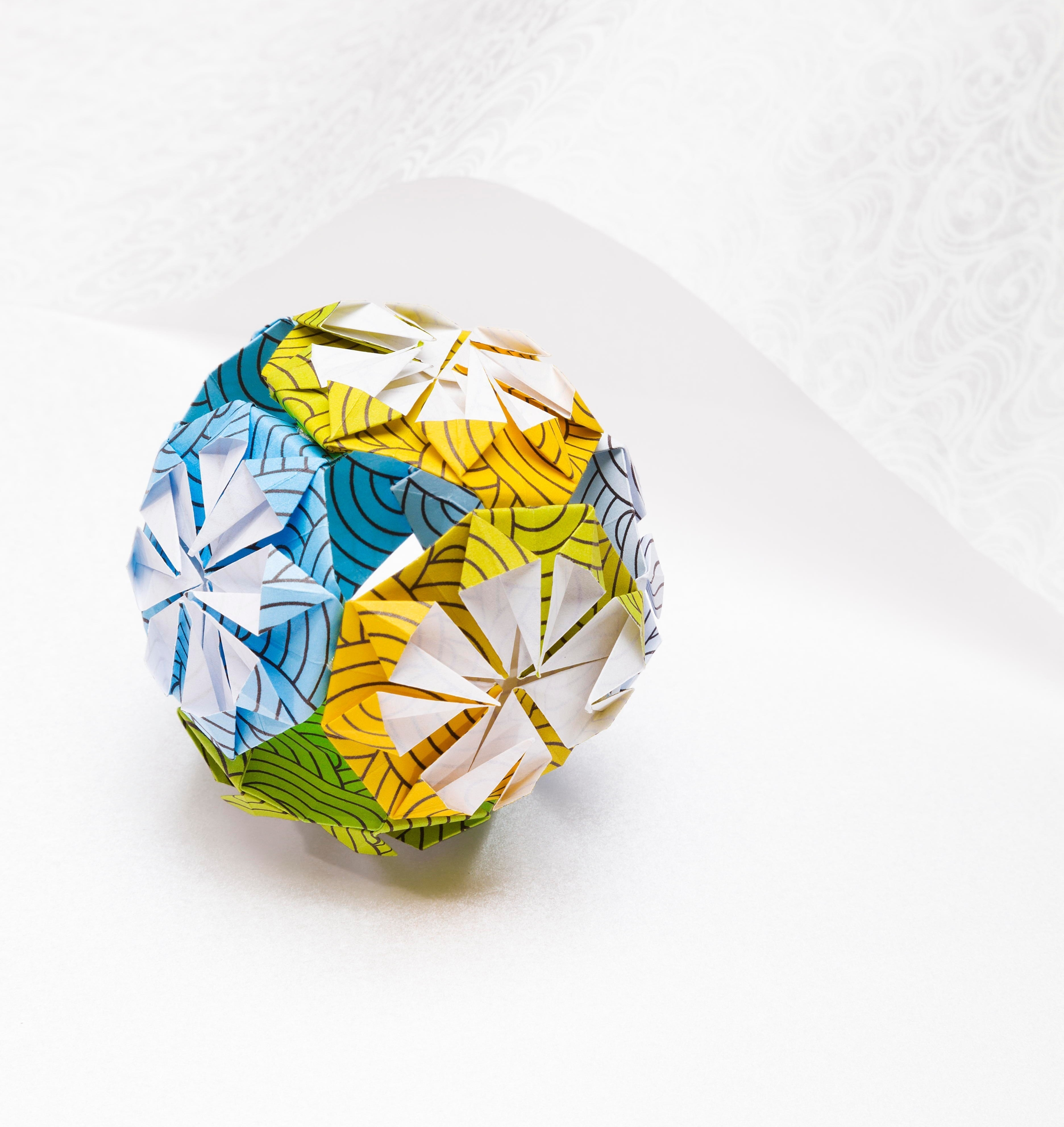 Kemari Origami Ball · Extract from Origami for Mindfulness ... - photo#22