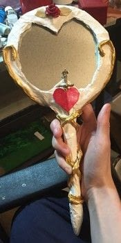 .  Make a hand mirror Version posted by Kinhime Dragon. Difficulty: 5/5. Cost: Absolutley free.