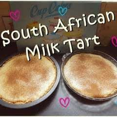Traditional South African Dessert: Milk Tart !!