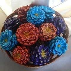Sweet Bouquet Of Pine Cones
