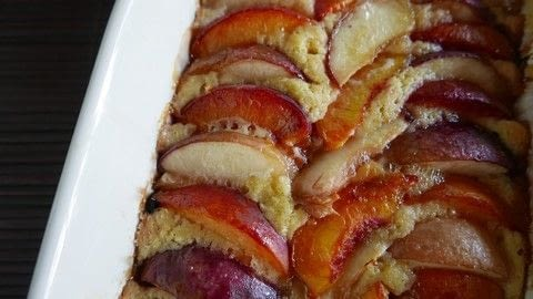 Create a great dessert with fresh peaches .  Free tutorial with pictures on how to bake a fruit tart in under 90 minutes Inspired by cake and peach. Recipe posted by francine s.  in the Recipes section Difficulty: Easy. Cost: Cheap. Steps: 5