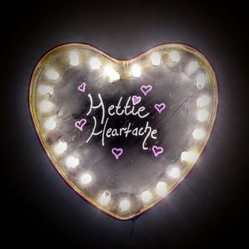 Turn an old chocolate box into a cute marquee light! .  Free tutorial with pictures on how to make a decorative light in under 60 minutes by decorating with chocolate box, chalkboard paint, and paint brush. Inspired by valentine's day and hearts. How To posted by Cat Morley.  in the Home + DIY section Difficulty: Simple. Cost: Cheap. Steps: 8