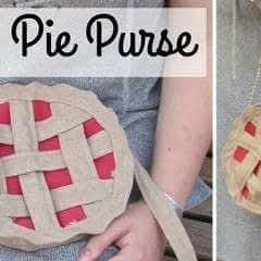 Diy Pie Purse