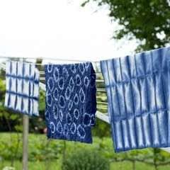 Shibori Inspired Dishtowels
