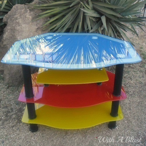 Beau Spray Paint Clear Glass Tables This Way And Prevent Any Future Scratches .  Free Tutorial With