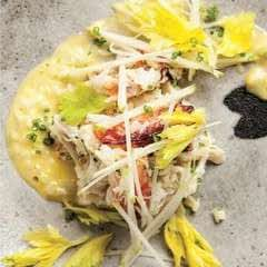 Dungeness Crab Salad With Green Apple And Celery