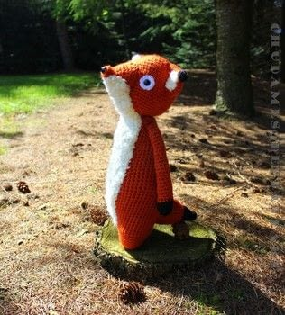 A Loyal Companion .  Make a fox plushie by yarncrafting, crocheting, and amigurumi with worsted yarn, safety eyes, and polyfill. Inspired by foxes. Creation posted by Chudames.  in the Yarncraft section Difficulty: Simple. Cost: 3/5.