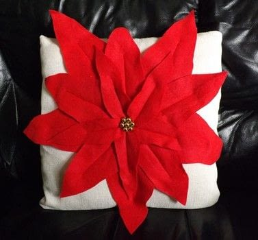 Christmas Crafting .  Make a cushion in under 60 minutes by machine sewing with cushion inner, fabric, and felt. Inspired by christmas. Creation posted by PixieFey.  in the Sewing section Difficulty: Easy. Cost: Cheap.