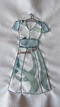 Recreate a picture or a sketch in fabric .  Free tutorial with pictures on how to applique  in under 60 minutes using calico, darning foot, and interfacing. How To posted by Claire E.  in the Sewing section Difficulty: 3/5. Cost: Absolutley free. Steps: 7