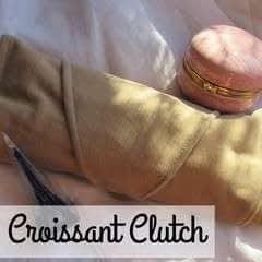 Diy Croissant Clutch