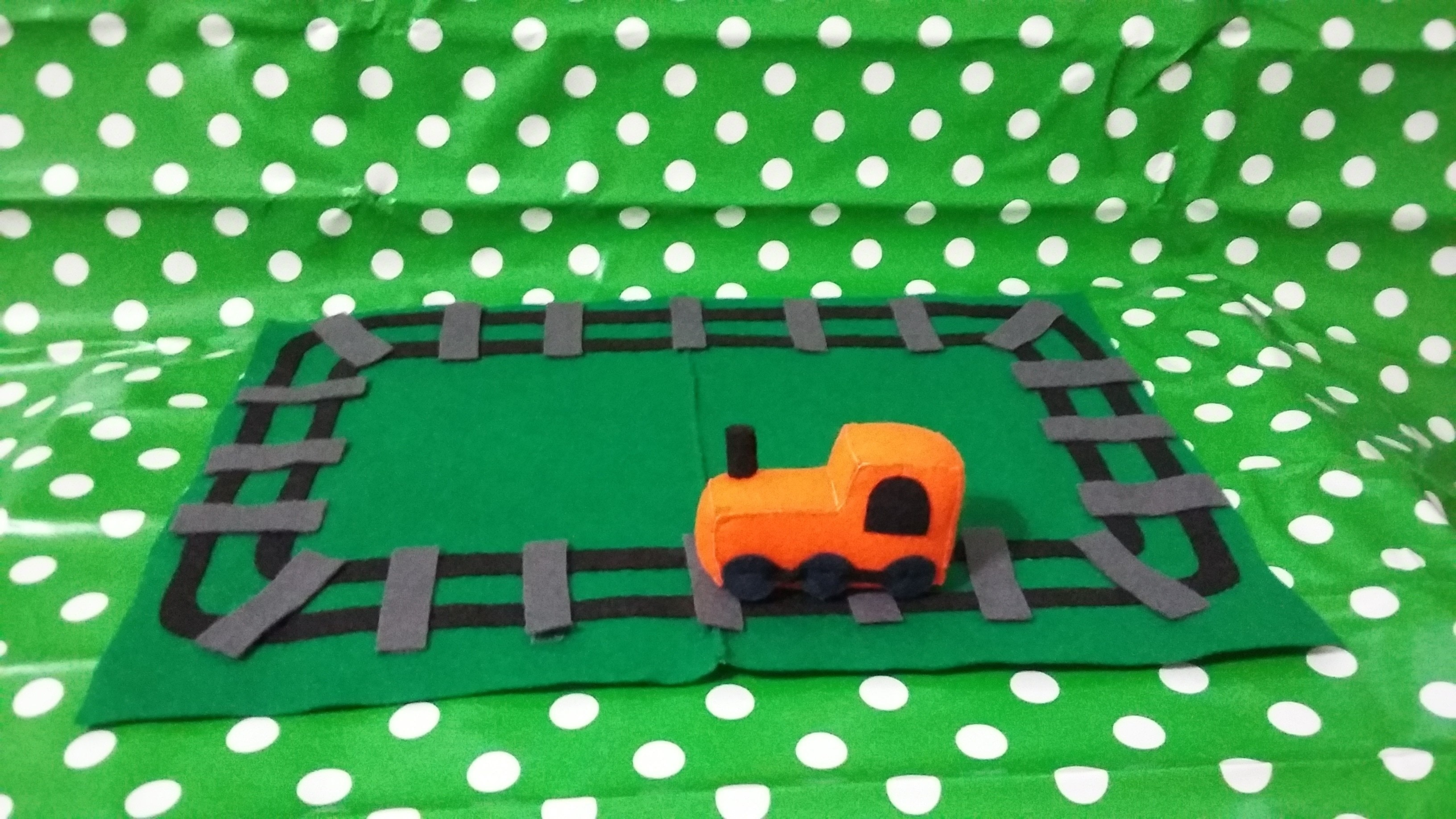Felt Train Amp Track Playset 183 How To Make An Object Plushie