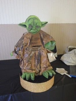 The force be with you .  Make a party planning using center piece, cake, and games. Inspired by halloween, birthdays, and parties. Creation posted by Ashinezz.  in the Decorating section Difficulty: 5/5. Cost: 4/5.