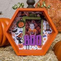 Pumpkin Shadowbox Frame